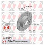 Zimmermann Tarcza hamulcowa 100.1237.52