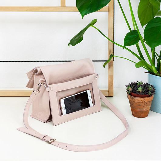 474d3eb55b17c Boxy Bag L Pale Pink - dwuczęściowa torebka - Ceny i opinie na ...