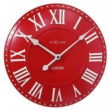 Nextime Zegar - Anytime - London Roman czerwony 3083 RO