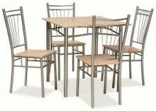 Signal Zestaw FIT (stół + 4 krzesła) dąb sonoma FITD