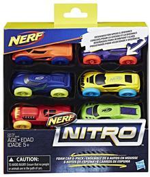 Hasbro Nerf Nitro 6-pak samochodów Ner Nitro C1372