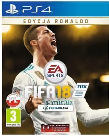 Gra PS4 FIFA 18 Ronaldo Edition 5035226122279
