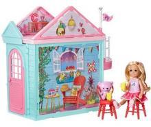 Mattel Barbie Domek zabaw Chelsea z lalką