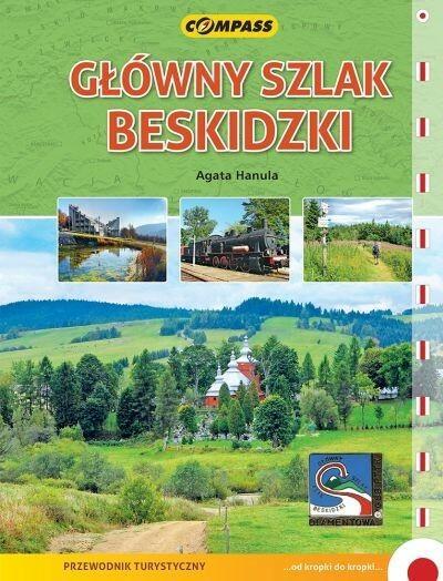 Wydawnictwo Compass Główny Szlak Beskidzki Przewodnik turystyczny - Agata Hanula