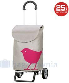 Andersen Wózek na zakupy Scala Plus Bird 133-102-70 Różowy - różowy 133-102-70