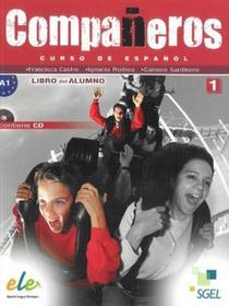 SGEL - Educacion Companeros 1 Podręcznik + płyta CD bez dodatku extra - SGEL-Educacion