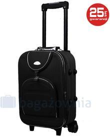 PELLUCCI Mała kabinowa walizka PELLUCCI 801 S - Czarny - czarny