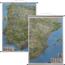 Freytag&Berndt Hiszpania Portugalia mapa ścienna samochodowa 1:700 000