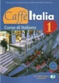 Caffe italia 1 libro dello studente con esercizi + libretto complementare + cd - dostępny od ręki, wysyłka od 2,99