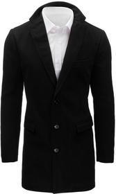 Dstreet Płaszcz męski czarny (cx0360) cx0360_m