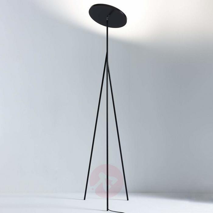 Faro Lampa LED oświetlająca sufit czarna 198 cm