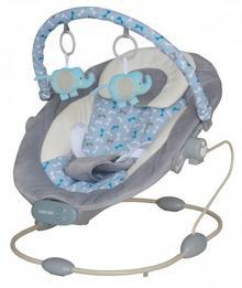 Baby Mix Leżaczek dla Dzieci BR245-grey BR245-GREY