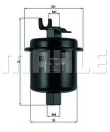 KNECHT Filtr paliwa KL 180