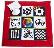 Manhattan Toy Zabawka dla niemowląt, Mata edukacyjna, czerwona, 81x81 cm