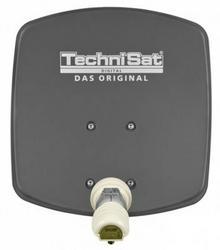 Technisat DigiDish 45cm grafitowa antena, singiel 1345/8194
