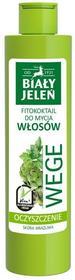 Pollena Biały Jeleń Wege Fitokoktajl do mycia włosów oczyszczający Pietruszka i Karczoch 250ml