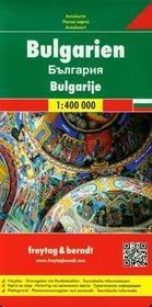 Freytag&berndt Bułgaria mapa drogowa 1:400 000 - Freytag & Berndt
