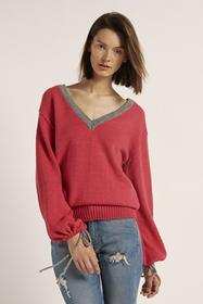 Sweter Face Pink