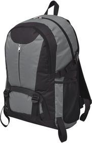 vidaXL vidaXL Plecak turystyczny 40 L czarny i szary