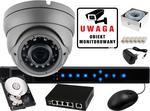 BCS IVELSet Zestaw do monitoringu IP: Rejestrator sieciowy 4 kanałowy P-NVR0401. 1 x Kamera LV-AMB3M