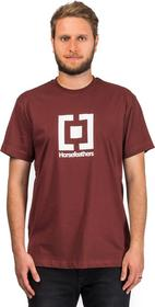 Horsefeathers t-shirt BASE T-SHIRT ruby)
