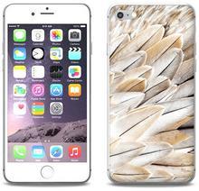 Etuo.pl etuo Foto Case - Apple iPhone 8 - etui na telefon Foto Case - białe pióra ETAP609FOTOFT017000