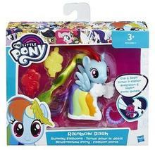 Hasbro My Little Pony Kucyki na wybiegu Rainbow Dash B8810/B9622