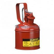 Topserw Pojemnik zabezpieczający stalowy na płyny łatwopalne 1 l, Typ I, czerwony