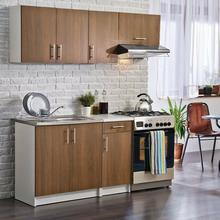 DEFTRANS Zestaw mebli kuchennych TOLA 2 kolor Orzech rustikal