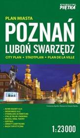 zbiorowa Praca Poznań 1:23 000 plan miasta PIĘTKA / wysyłka w 24h