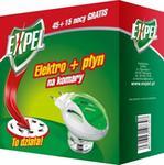 Expel Elektrofumigator + płyn na komary 60 nocy ochrony 40ml