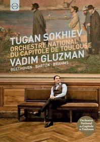 Orchestre national du Capitole de Toulouse; Vadim  Beethoven Concerto pour violon et orchestre en ré majeur op 61 Bartok Le Prince de bois poeme choregraphique op 13 Sz 60 Brahms Symphonie