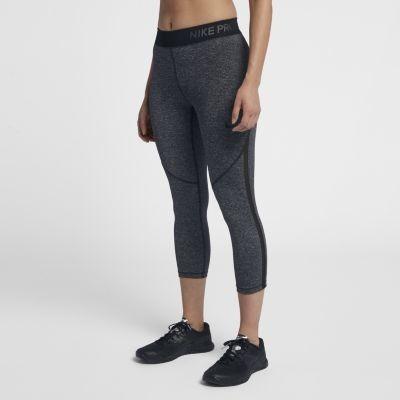 e3e37fa9d7119 Nike Damskie spodnie treningowe capri Nike Pro HyperCool - Czerń 889815-010