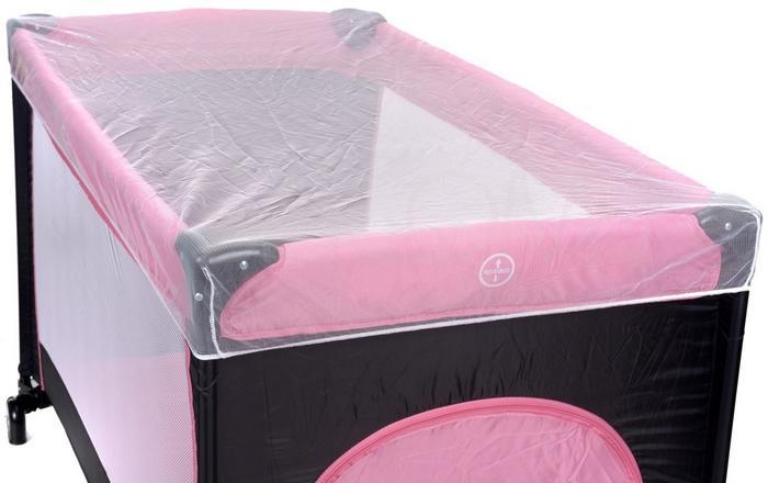 Baby Maxi Kojec łóżeczko turystyczne BASIC Pink 727 koj róż