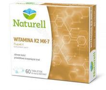 Naturell USP ZDROWIE Witamina K2 MK-7 x 60 tabl do ssania INSTANT | DARMOWA DOSTAWA OD 149 PLN!