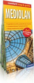 ExpressMap Marta Stebel comfort! map&guide Mediolan 2w1. Laminowany przewodnik i mapa 1:12 000