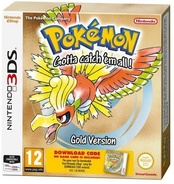Pokemon Gold DCC 3DS