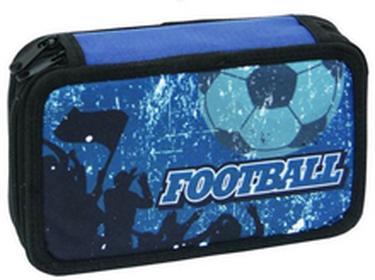 Eurocom Piórnik 2- komorowy z wyposażeniem Football Blue