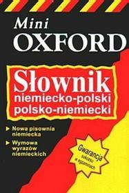 Słownik niemiecko-polski, poskol-niemiecki - mini Oxford - Valerie Grundy,Krzysztof Tkaczyk