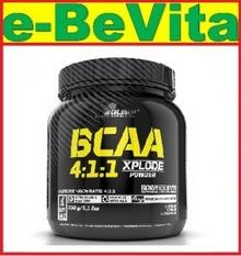 Olimp BCAA Xplode Powder 4:1:1 - smak fruti punch