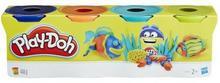 Hasbro Play-Doh 4 tuby ciastoliny Zestaw