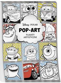 Disney Pixar Pop art Plakaty artystyczne