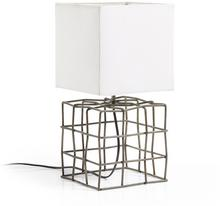 Brown LA FORMA Lampa Biurkowa Doherti Metal Shade White Aa1446j33 43,0x20,0/Lampa AA1446J33