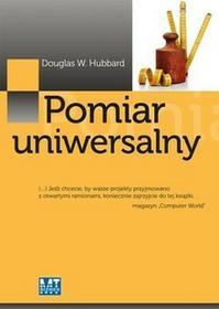 MT BiznesPomiar uniwersalny - Hubbard Douglas W.