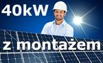 40kW panele fotowoltaiczne słoneczne z montażem Vat 23% FOTO_40kW