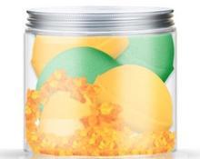 Nacomi Zestaw kul do kąpieli - Orange Vanilla and Green Tea Bath Bomb (bomba/4szt) Zestaw kul do kąpieli - Orange Vanilla and Green Tea Bath Bomb (bomba/4szt)