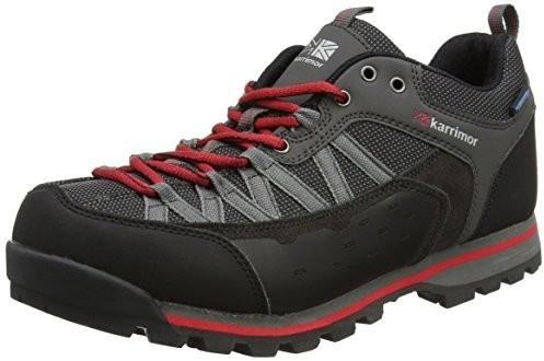 Karrimor Mens Low Spike 2 weat hertite Hiking Walking Shoes, kolor: czarny, rozmiar: 12 B06XYKP39N