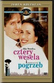 Imperial CinePix Cztery wesela i pogrzeb DVD Mike Newell