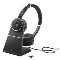 Jabra Evolve 75 UC Stereo czarne