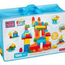 Mega Bloks FIRST BUILDERS KLOCKI TORBA 150EL CNM43 37510